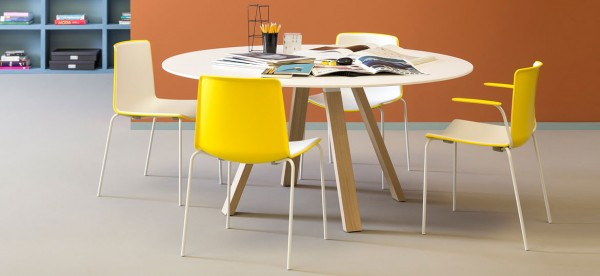 Arki-Table wood quadrato e tondo
