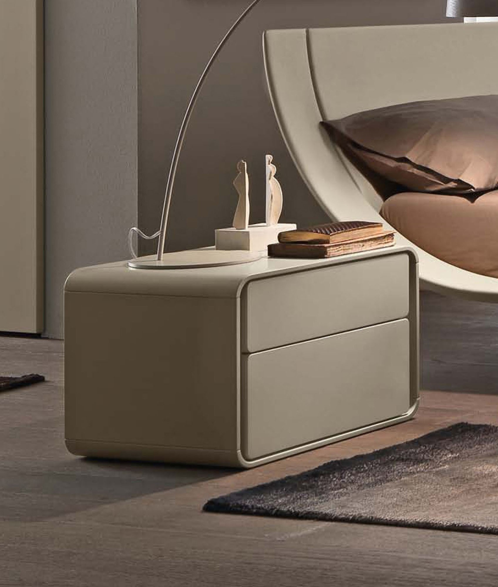 Ice - Presotto nightstand 2 drawers | lartdevivre - online furnishing