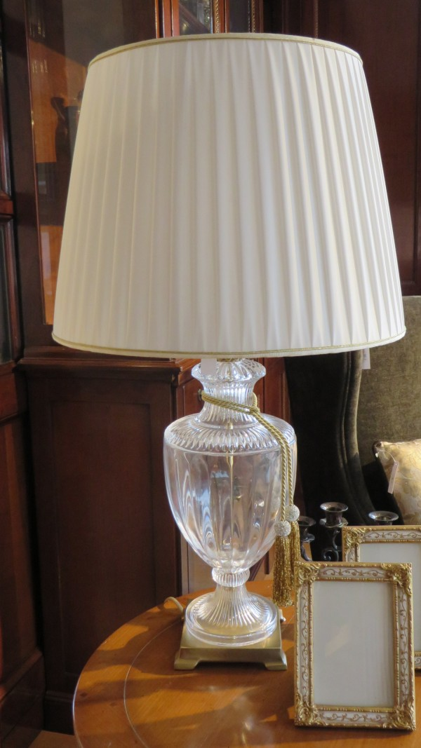 Crystal table lamp - Outlet