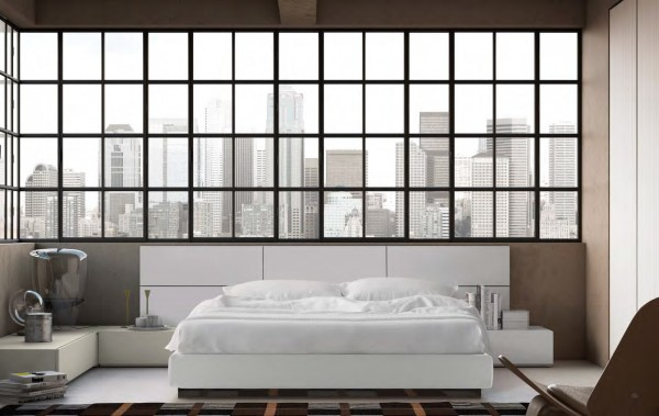 Bedroom composition