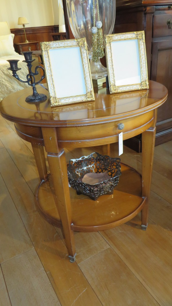 Round coffee-table with drawer - Outlet